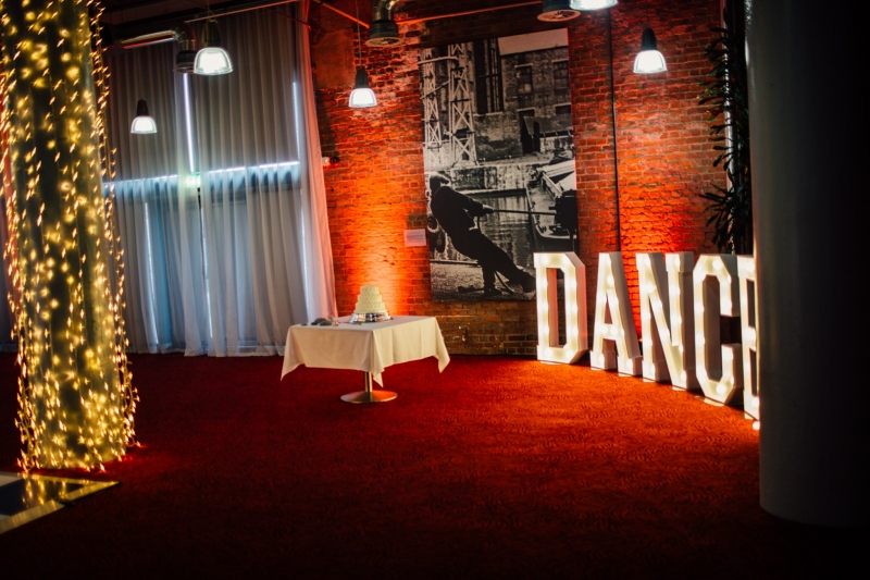 DANCE LED Letters at The Place Aparthotel, Manchester