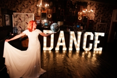 Our illuminated letters add the perfect glow to your party dancefloor or special occasion