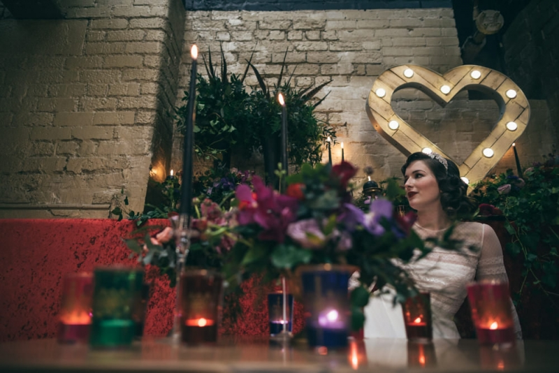 Our rustic light up Love Heart