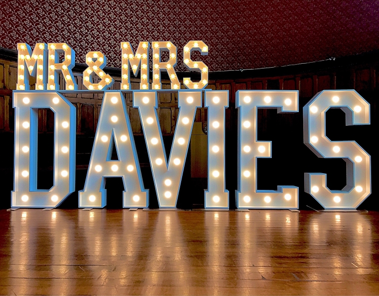 Mr & Mrs DAVIES letters at Chester Town Hall