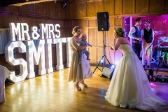 Mr & Mrs SMITH light up letters