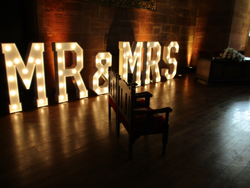 Sparkly Images Of Our Illuminated Marquee Letters And Signage