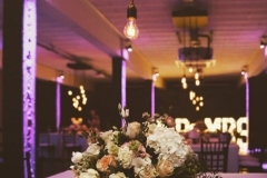 MR & MRS Illuminated Letters at Victoria Warehouse, Manchester