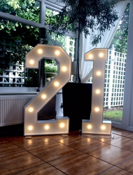 21 Light Up Signage at The Yellow Broom, Cheshire