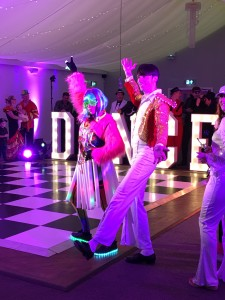 Dance Fever on the BBC: Our Light Up Words debut