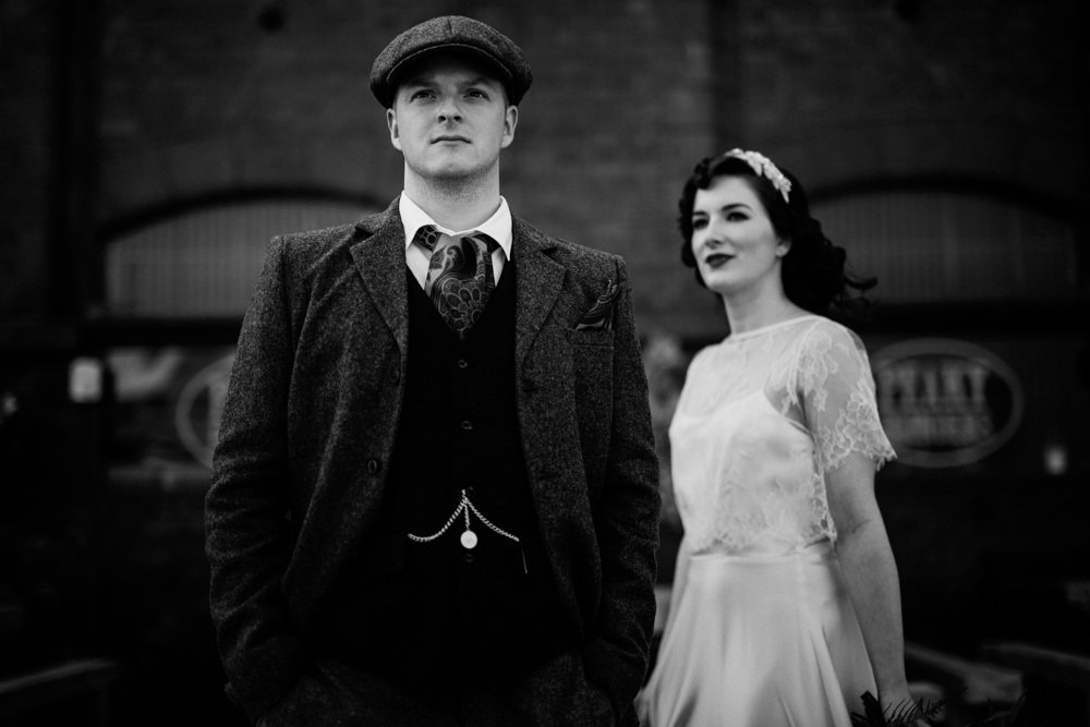 For the Love of The Peaky Blinders – a styled wedding shoot in Liverpool